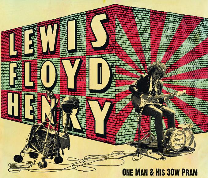 Lewis Floyd Henry in tour dal 23 febbraio al 3 marzo