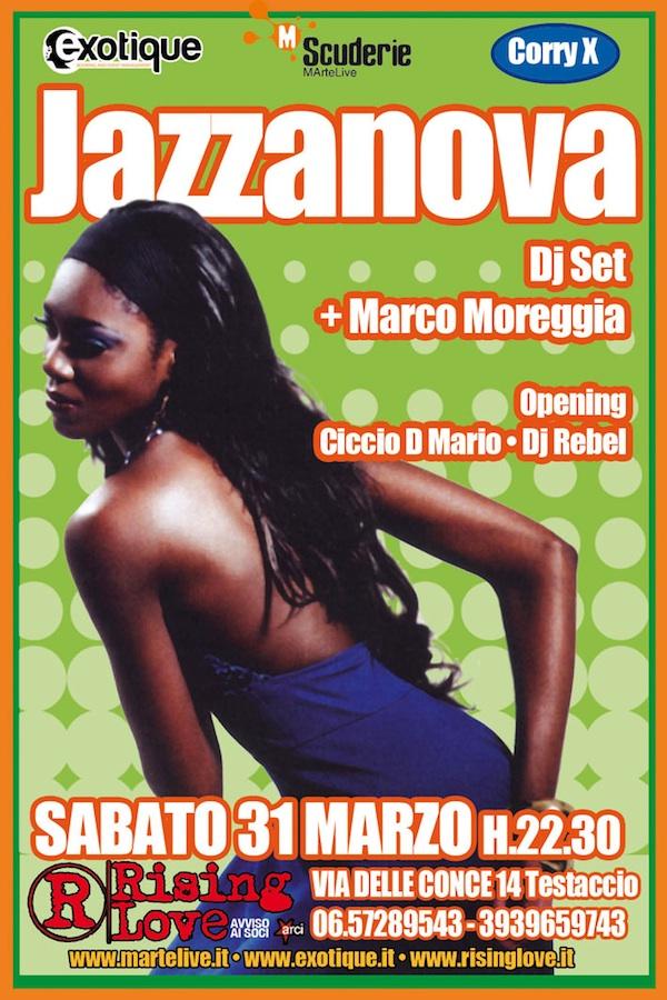 Jazzanova dj set a Roma Suona Funk! @ Rising Love