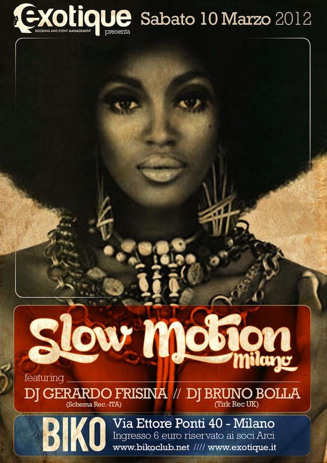 Slow Motion Milano @ Biko ft Gerardo Frisina e Bruno Bolla