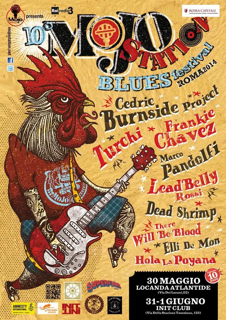 Mojo Station Blues Festival 2014_Roma 30/31 Maggio e 1 Giugno