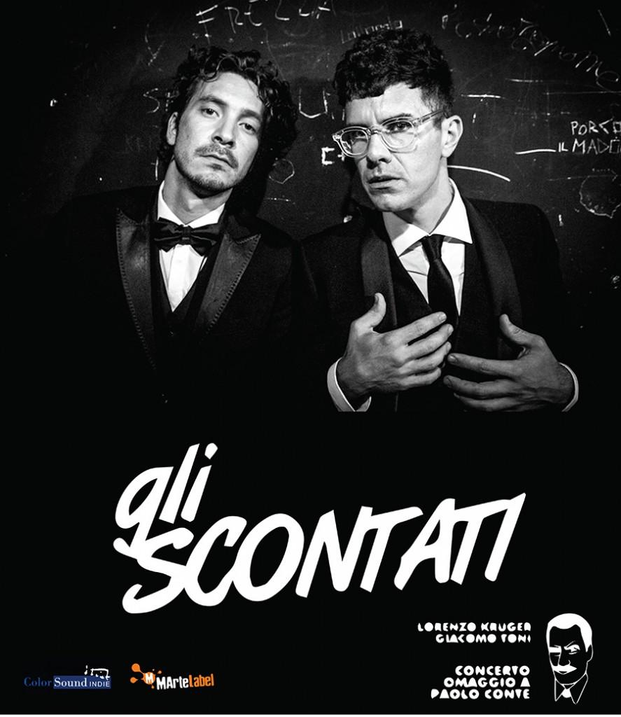 Venerdì 17 Aprile Secret Show con Gli Scontati in un luogo segreto del Circeo!