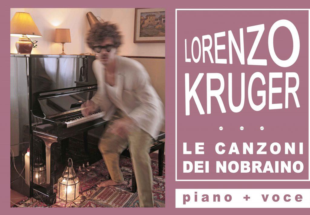 Lorenzo Kruger al piano per la prima volta in Ciociaria il prossimo 9 marzo.