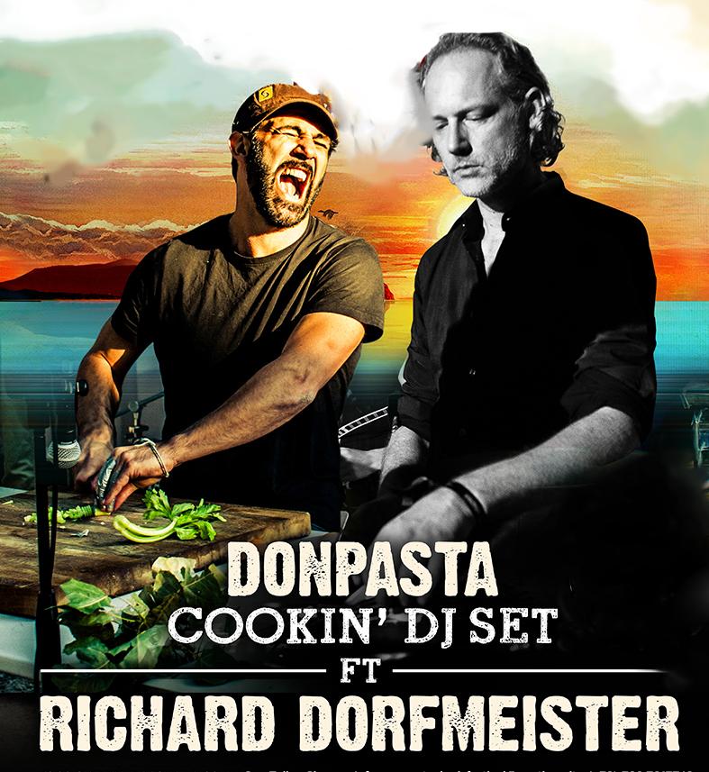 Donpasta e Richard Dorfmeister di nuovo insieme per La Focara Festival a Novoli il 17 Gennaio 2017!