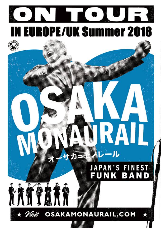 Osaka Monaurail in Europa, e in Italia a Luglio!