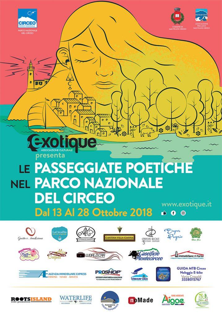 Le Passeggiate Poetiche nel Parco Nazionale del Circeo dal 13 ottobre al 11 novembre 2018