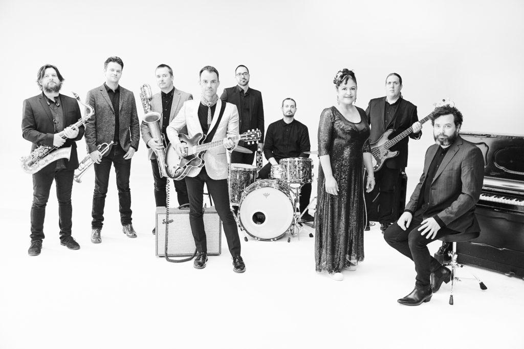 The Bamboos, la mitica band australiana con l'incredibile voce di Kylie Auldist