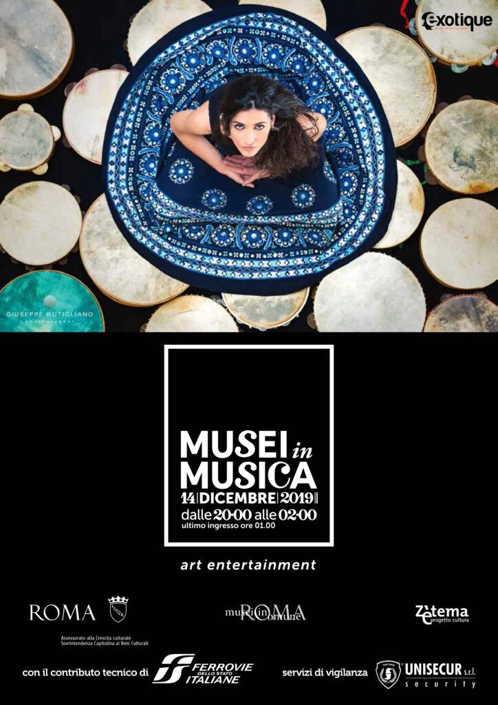 Rachele Andrioli a Musei in Musica 2019, Roma 14 dicembre