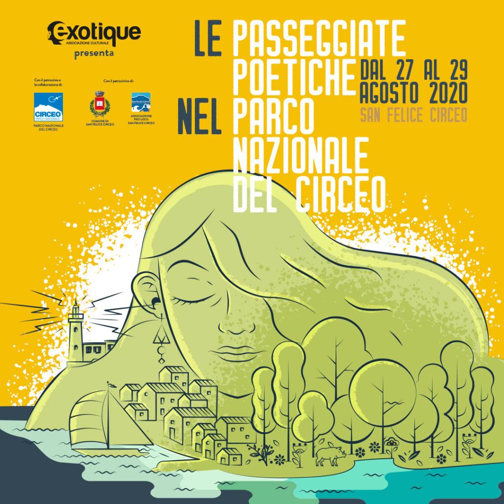 Le Passeggiate Poetiche nel Parco Nazionale del Circeo dal 27 al 29 agosto 2020