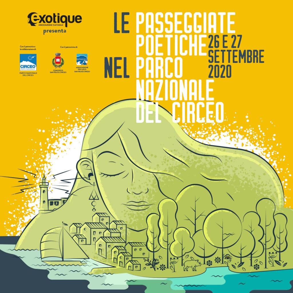 Le Passeggiate Poetiche nel Parco Nazionale del Circeo, 26 e 27 settembre 2020 SONO  RINVIATE PER MALTEMPO