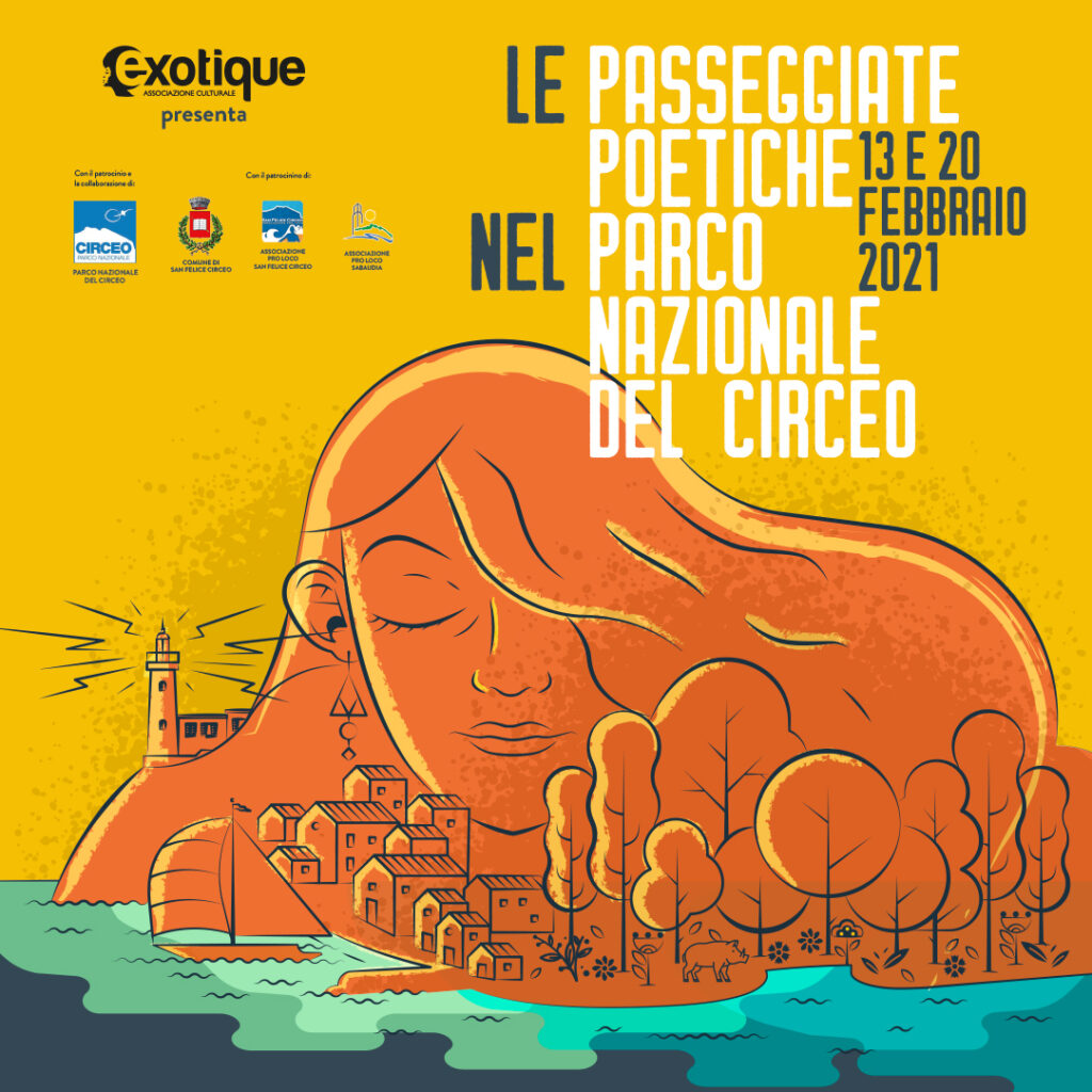 Le Passeggiate Poetiche nel Parco Nazionale del Circeo 13 e 20 febbraio 2021