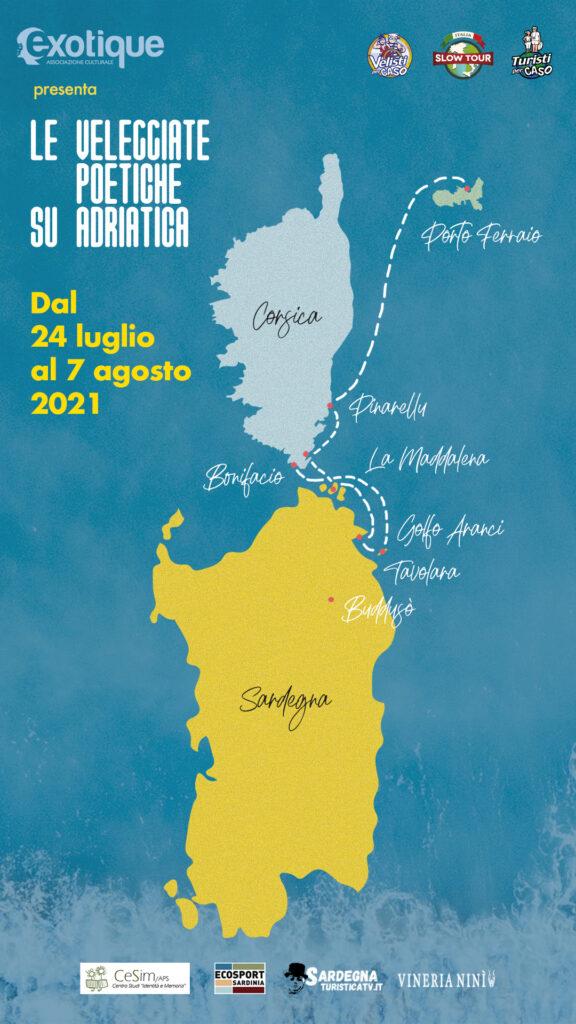 Le Veleggiate Poetiche su Adriatica dal 24 luglio al 7 agosto 2021