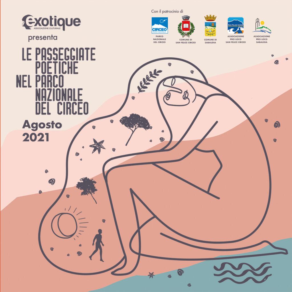 Le Passeggiate Poetiche nel Parco Nazionale del Circeo dal 12 al 26 agosto 2021