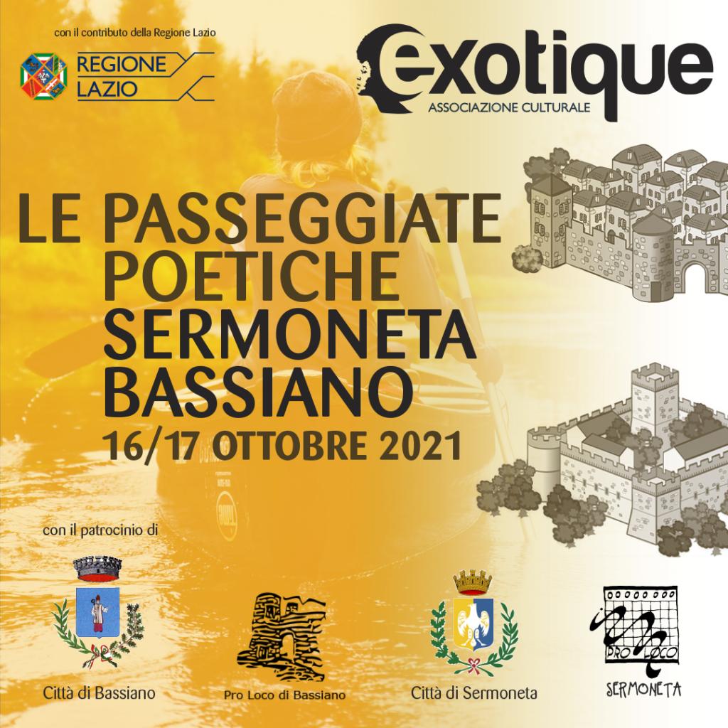Le Passeggiate Poetiche sui Monti Lepini, Sermoneta e Bassiano 16 e 17 ottobre 2021